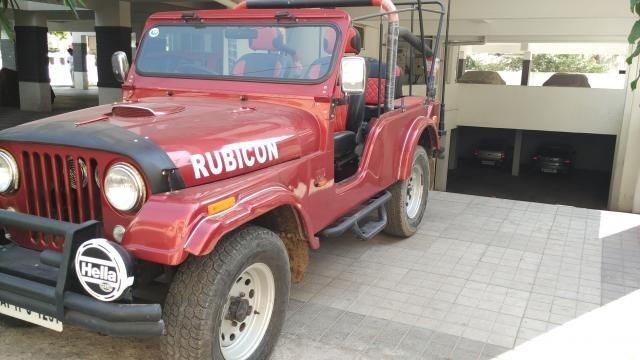 Mahindra Jeep MM 540 1990