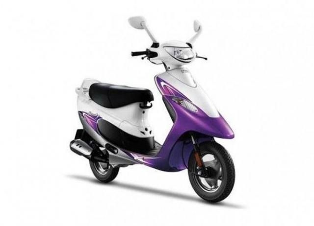 TVS Scooty Pep Plus 88 cc 2016