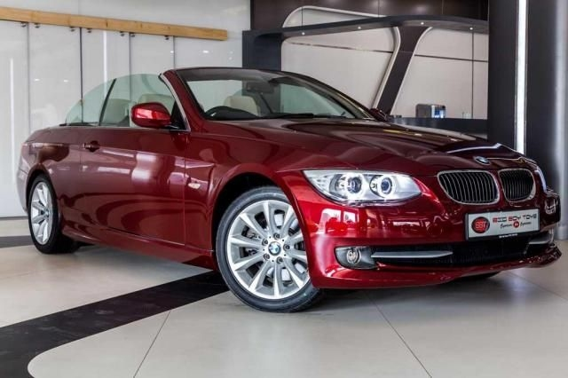 BMW 3 Series 330d Convertible 2012