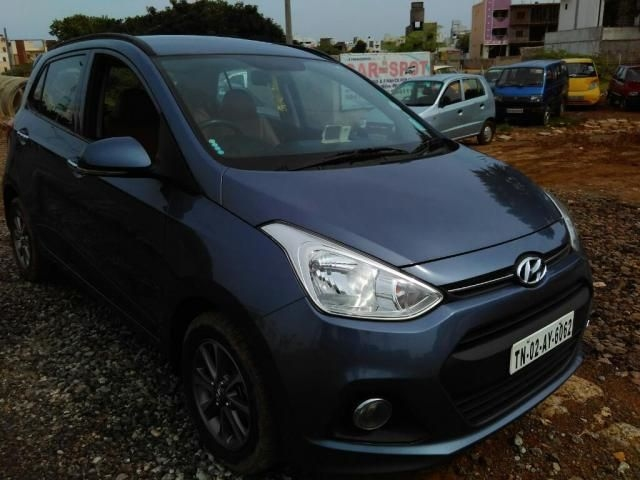 Hyundai Grand i10 1.2 Sportz (O) AT 2017