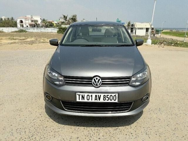 Volkswagen Vento Highline Petrol AT 2014