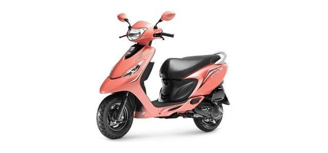 TVS Scooty Zest 110 HIMALAYAN HIGHS SERIES 2018