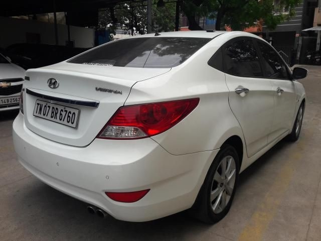Hyundai Verna 1.6 SX VTVT AT 2012