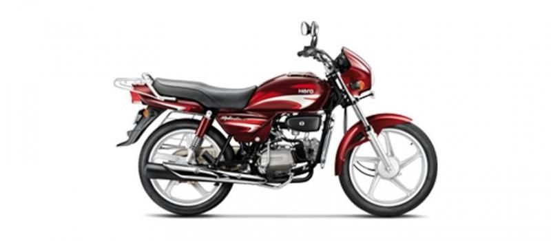 Hero Splendor Plus Kick Alloy 100cc 2019