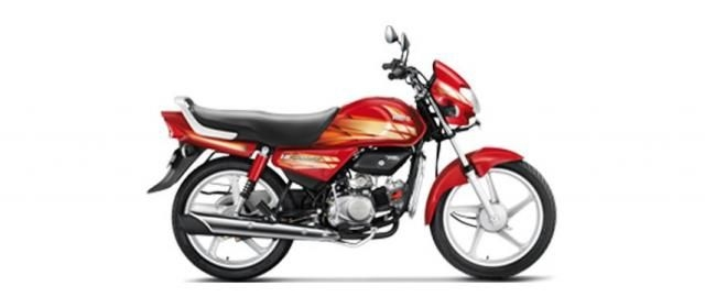 Hero HF Deluxe Kick Alloy 100cc 2019