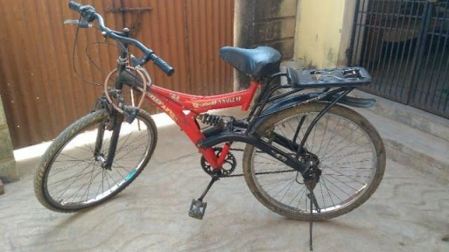 a7cae150783 52 Used Red Color Hero Bicycle for Sale