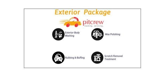 Exterior Car Care Detailing - PITCREW