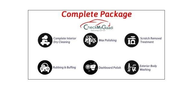 Complete(Interior and Exterior) Car Care Detailing - CheckMyGaadi