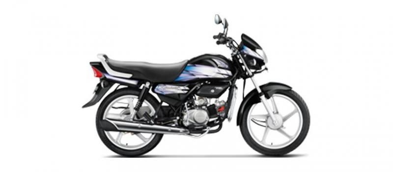 Hero HF Deluxe Kick Spoke 100cc 2019