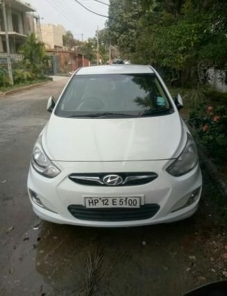 Hyundai Verna 1.6 CRDI SX Plus AT 2012