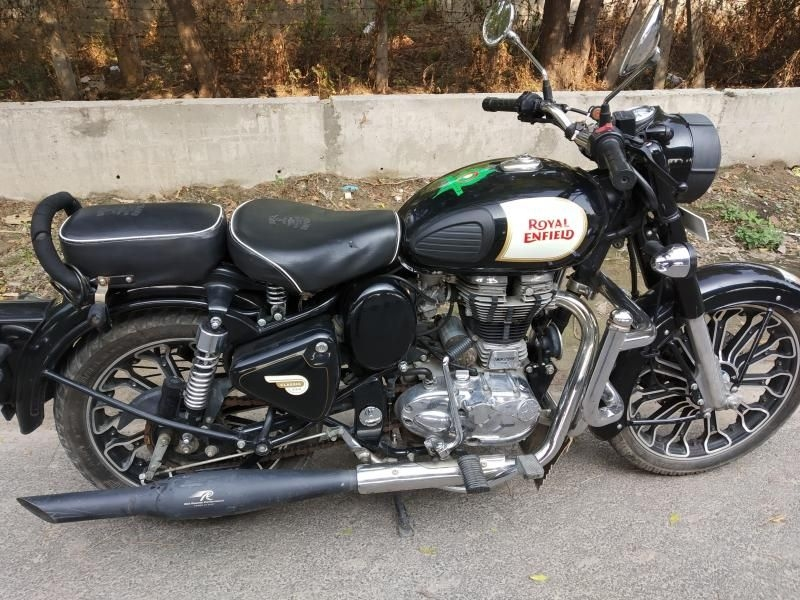 royal enfield classic bike for sale in noida id 1417506614 droom. Black Bedroom Furniture Sets. Home Design Ideas