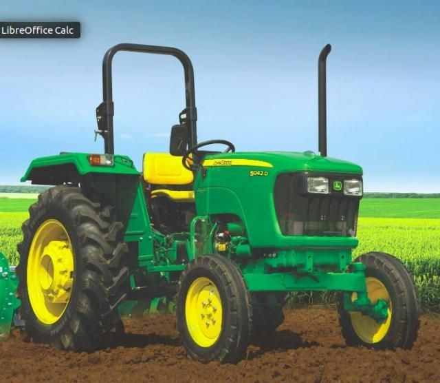 John Deere D Series 5042D POWERPRO 44 HP 2018