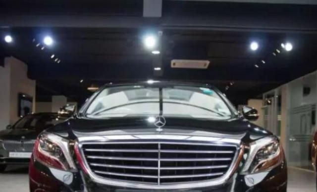 Mercedes-Benz S-Class Maybach S 500 2018