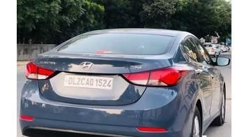 Hyundai Elantra 1.6 SX (O) AT 2015