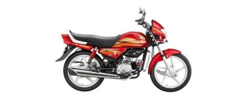 Hero HF Deluxe iBS Kick Alloy 100cc 2020