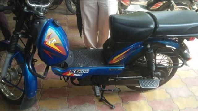 TVS XL 100cc Heavy Duty 2019